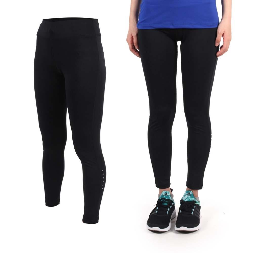 SOFO 女九分韻律褲-內搭褲 長褲 瑜珈 慢跑 路跑 運動 休閒 黑