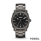 FOSSIL MACHINE SMOKE 灰色不鏽鋼手錶