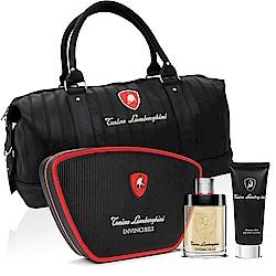 Lamborghini 藍寶堅尼戰神覺醒男性淡香水隨身旅行組-贈同品牌旅行袋