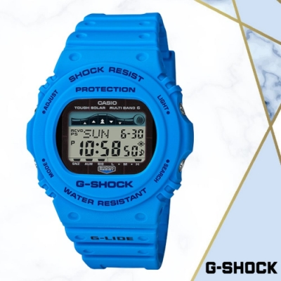 CASIO卡西歐 極限運動電波錶系列(GWX-5700CS-2D)/45.4mm
