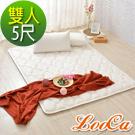 LooCa 3D超透氣雲端支撐天絲款日式床墊(雙人)