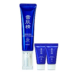 KOSE高絲 雪肌精光感澄皙UV柔膚乳35g贈6g*2