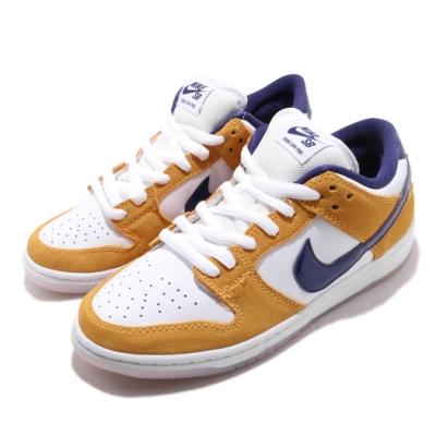 Nike 滑板鞋 SB Dunk Low Pro 男女鞋 經典款 麂皮 情侶穿搭 厚鞋舌 球鞋 黃 藍紫 BQ6817800