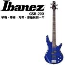 Ibanez GSR-200 電貝斯/主動式Bass/藍色