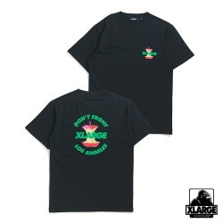 XLARGE S/S TEE APPLE短袖T恤-黑