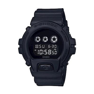 CASIO 卡西歐 G-Shock系列 經典戰將電子錶-黑/50mm
