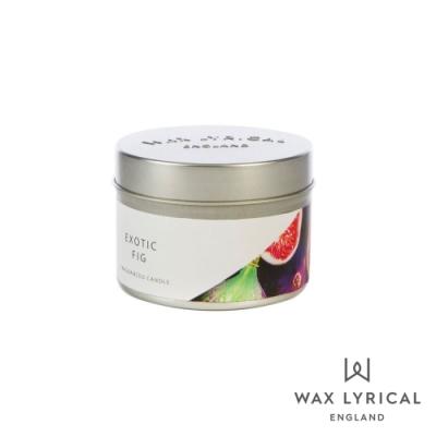 英國 Wax Lyrical 英式經典系列香氛蠟燭 無花果 Exotic Fig 84g
