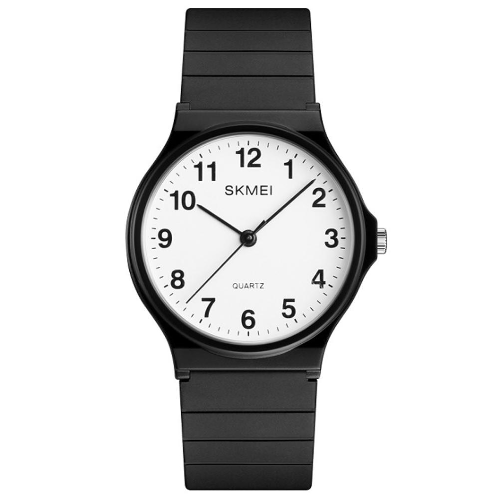 SKMEI 時刻美簡約刻度錶盤潮流網紅手錶(四款任選)