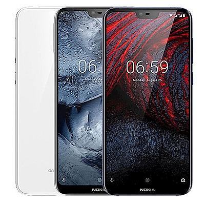 Nokia 6.1 Plus (4G/64G) 5.8吋全屏幕八核智慧手機