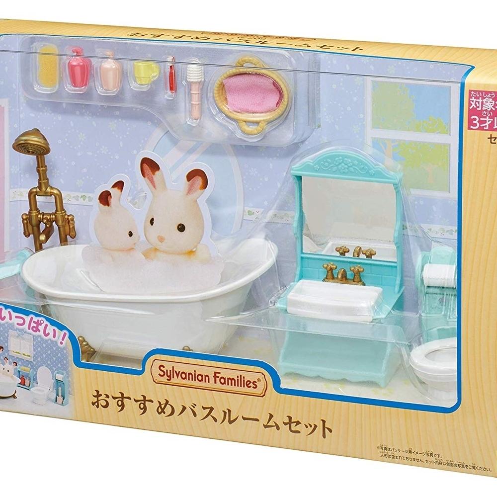 日本森林家族 浴室家具組EP14043 EPOCH公司貨