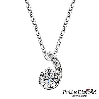 PERKINS 伯金仕-GIA Hug系列 E/VVS2 0.30克拉鑽石項鍊