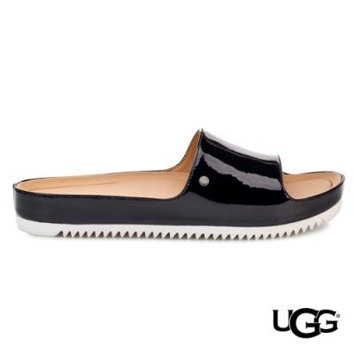 UGG女士 Jane Patent時尚羊皮拖鞋