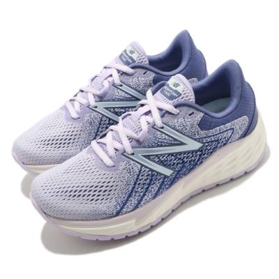New Balance 慢跑鞋 Fresh Foam 寬楦 運動 女鞋 紐巴倫 輕量 透氣 舒適 避震 路跑 紫 藍 WVARECR1D