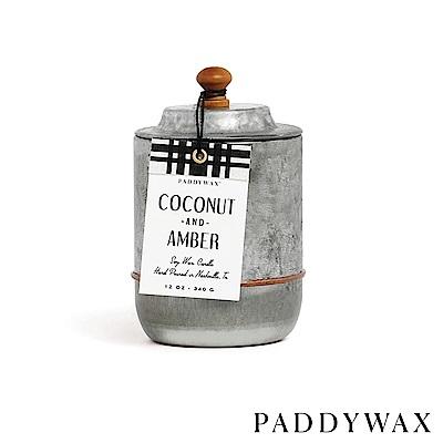 PADDYWAX 美國香氛 Homestead系列 椰子琥珀 復古工業風錫罐 340g