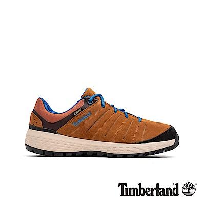 Timberland 男款中咖啡色全粒面革休閒鞋|A1VCH