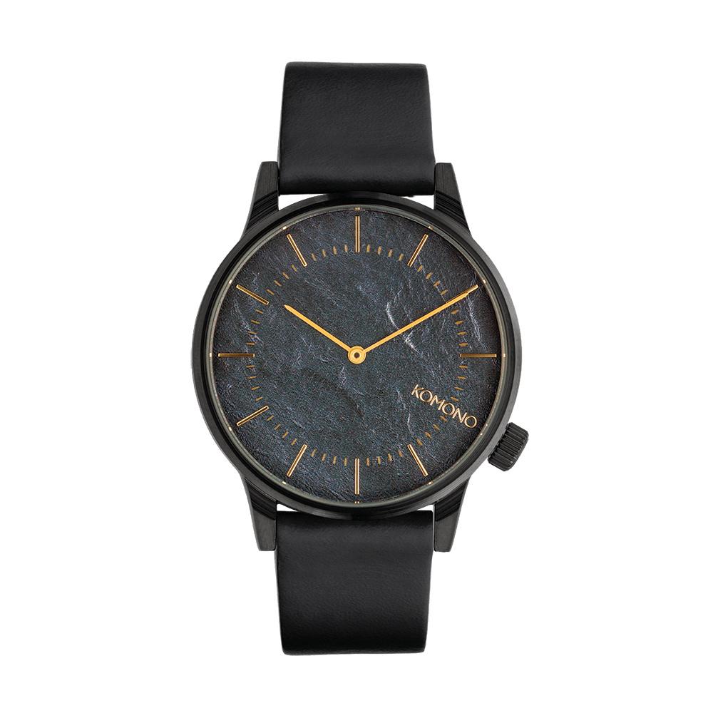 KOMONO Winston 腕錶-深海藍/41mm
