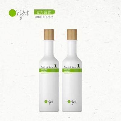 O right 歐萊德 瓶中樹綠茶洗髮精250ml 兩入組