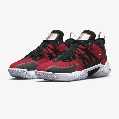 NIKE 耐吉 籃球鞋 運動鞋 緩震 包覆 男鞋 紅 CW2458-607 JORDAN ONE TAKE II PF