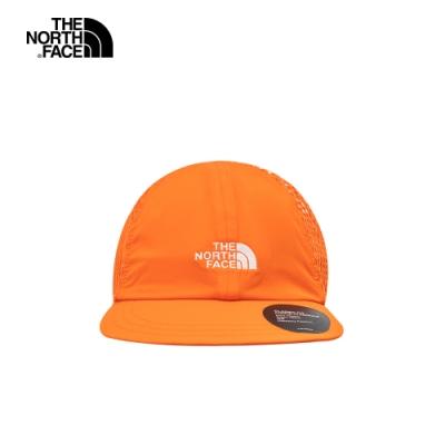 The North Face北面男女款橘色網眼棒球帽 55IMV3Q