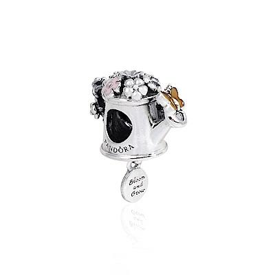 Pandora 潘朵拉 亮麗琺瑯噴壺 純銀墜飾 串珠