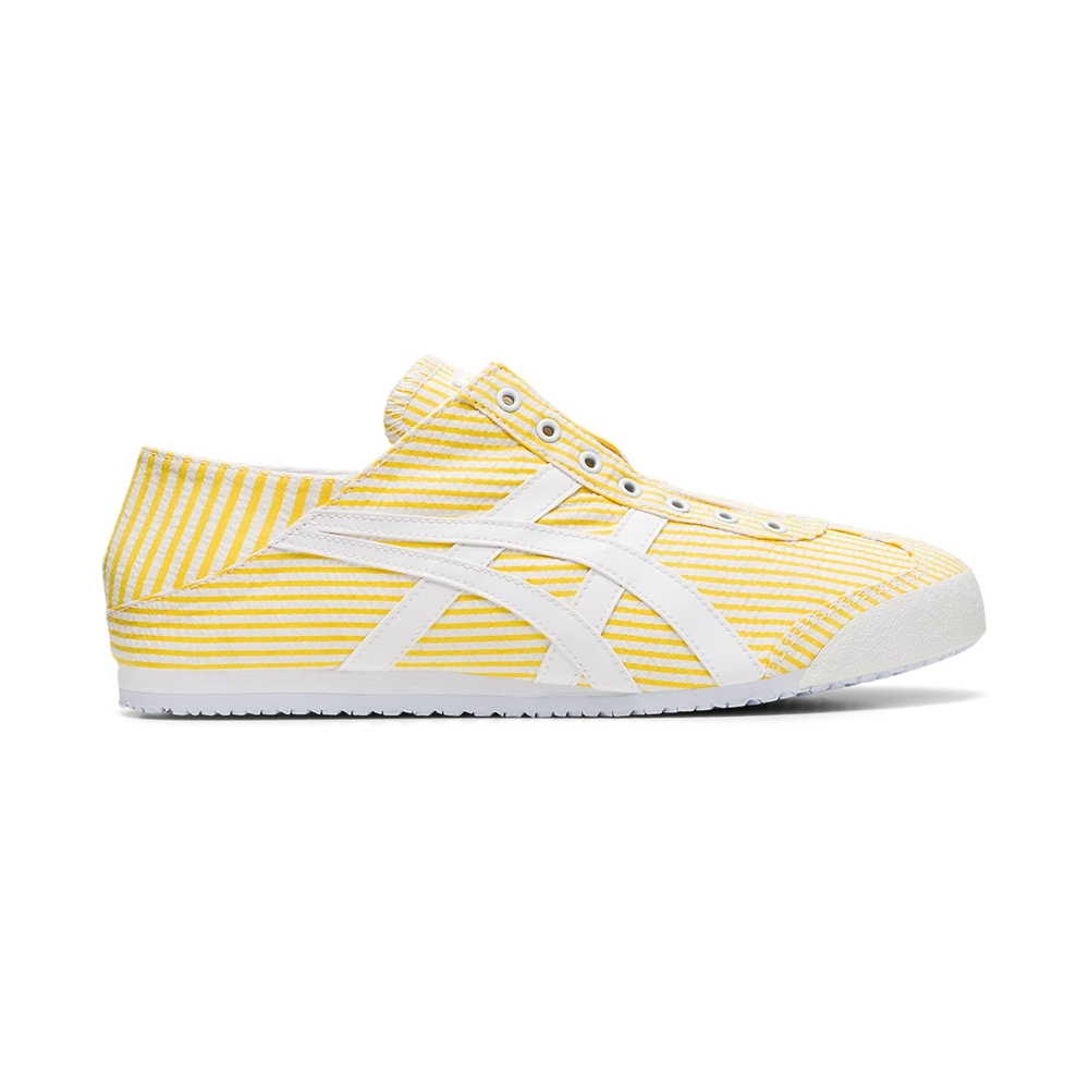 Onitsuka Tiger鬼塚虎-MEXICO 66 PARATY 休閒鞋(黃色)1183A572-750