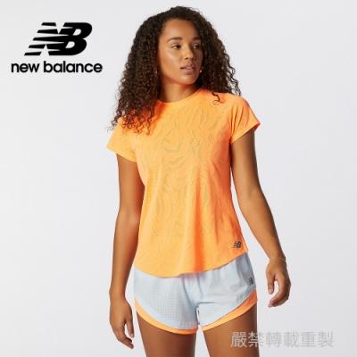 【New Balance】IceX短袖T_女性_橘色_AWT11278CPU