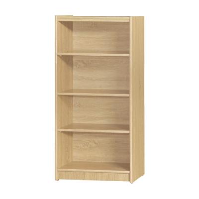 【綠活居】基斯坦   現代2尺四格書櫃/收納櫃(三色可選)-60.5x30x123.5cm免組