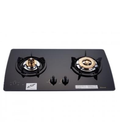 (全省安裝)林內美食家雙面檯面爐黑色與白色瓦斯爐桶裝瓦斯RB-2GMB_LPG