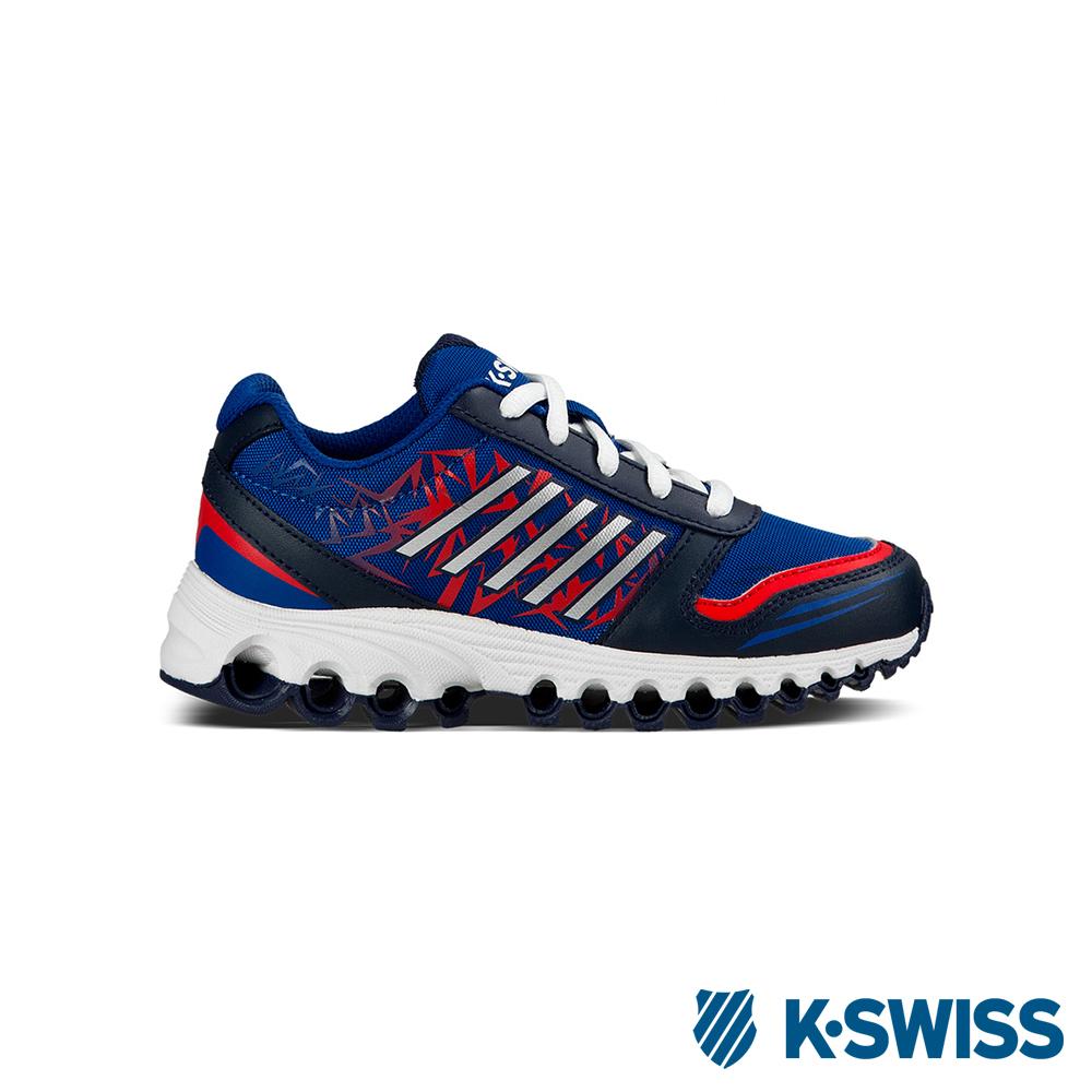 K-Swiss X-160 全方位運動鞋-童-海軍藍/靛藍/紅