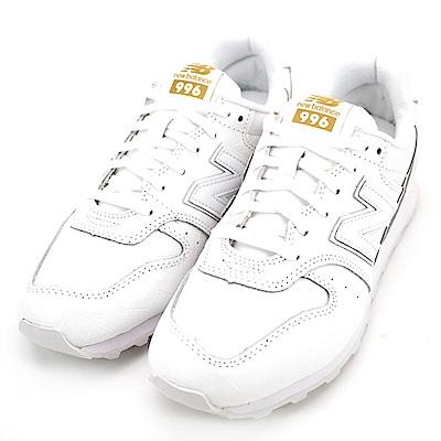 New Balance-996系列女休閒鞋WR996CRW-白