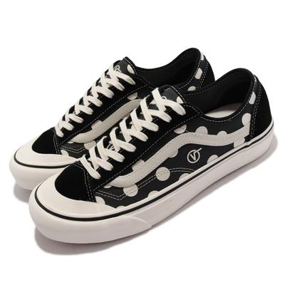 Vans 休閒鞋 Style 36 Decon Sf 男鞋 衝浪概念 緩震 圓點 點點 帆布 麂皮 黑 白 VN0A3MVL25L