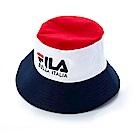 FILA 時尚筒帽-白 HTS-5108-WT