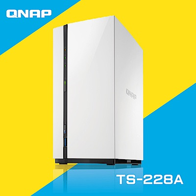 QNAP 威聯通 TS-228A 2Bay 網路儲存伺服器