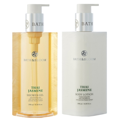 Bath & Bloom 泰國茉莉沐浴潤膚組