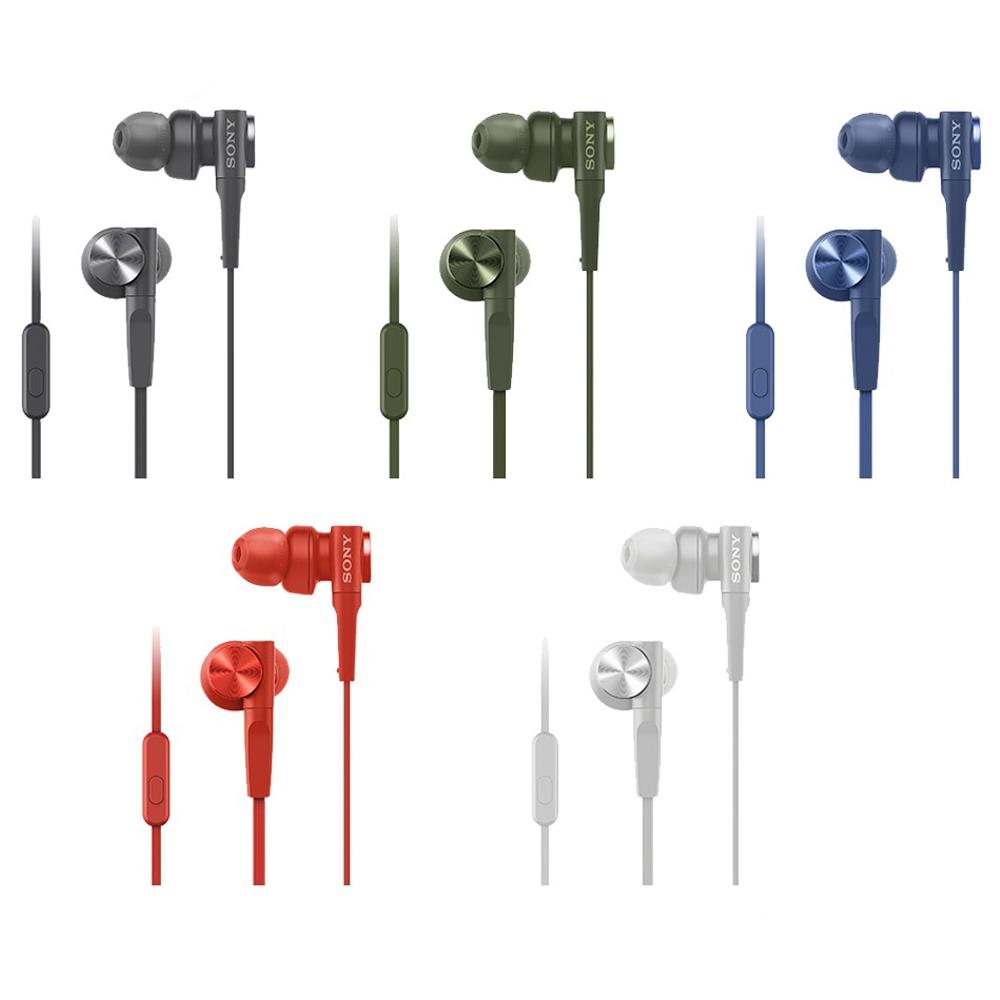 [福利品]SONY重低音內耳式耳麥MDR-XB55AP散裝出清