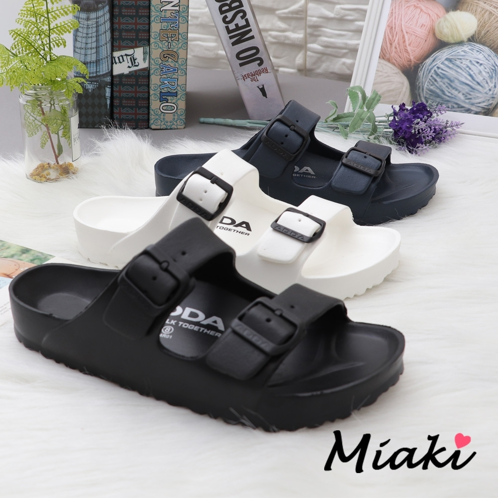 Miaki-拖鞋-防水休閒運動拖鞋