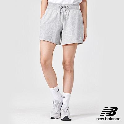 New Balance經典針織短褲AWS91592AG_女灰色