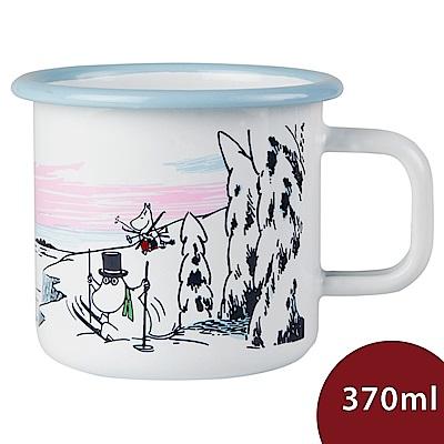 Muurla 嚕嚕米馬克杯 雪白世界 白色 370ml