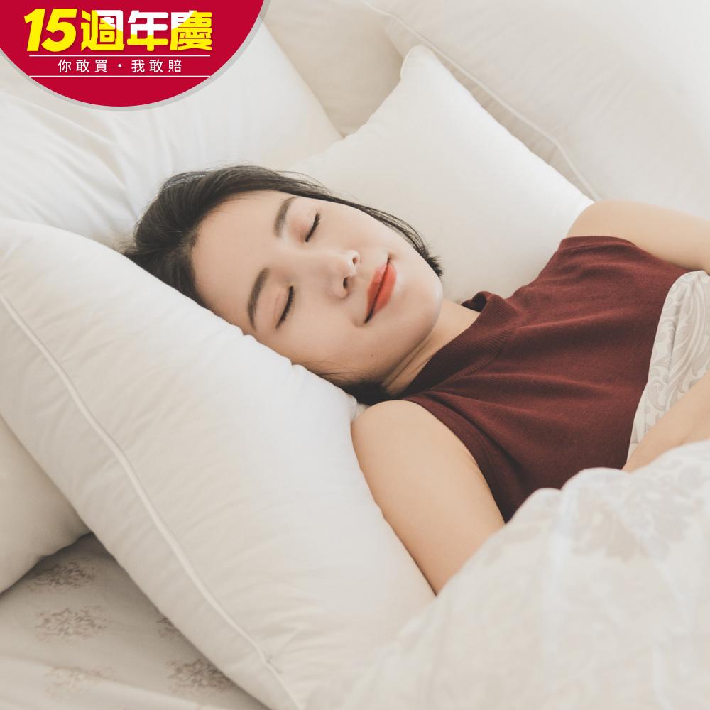 翔仔居家 30/70高品質飯店常態羽絨枕 適中款 (1入) 台灣製 @ Y!購物