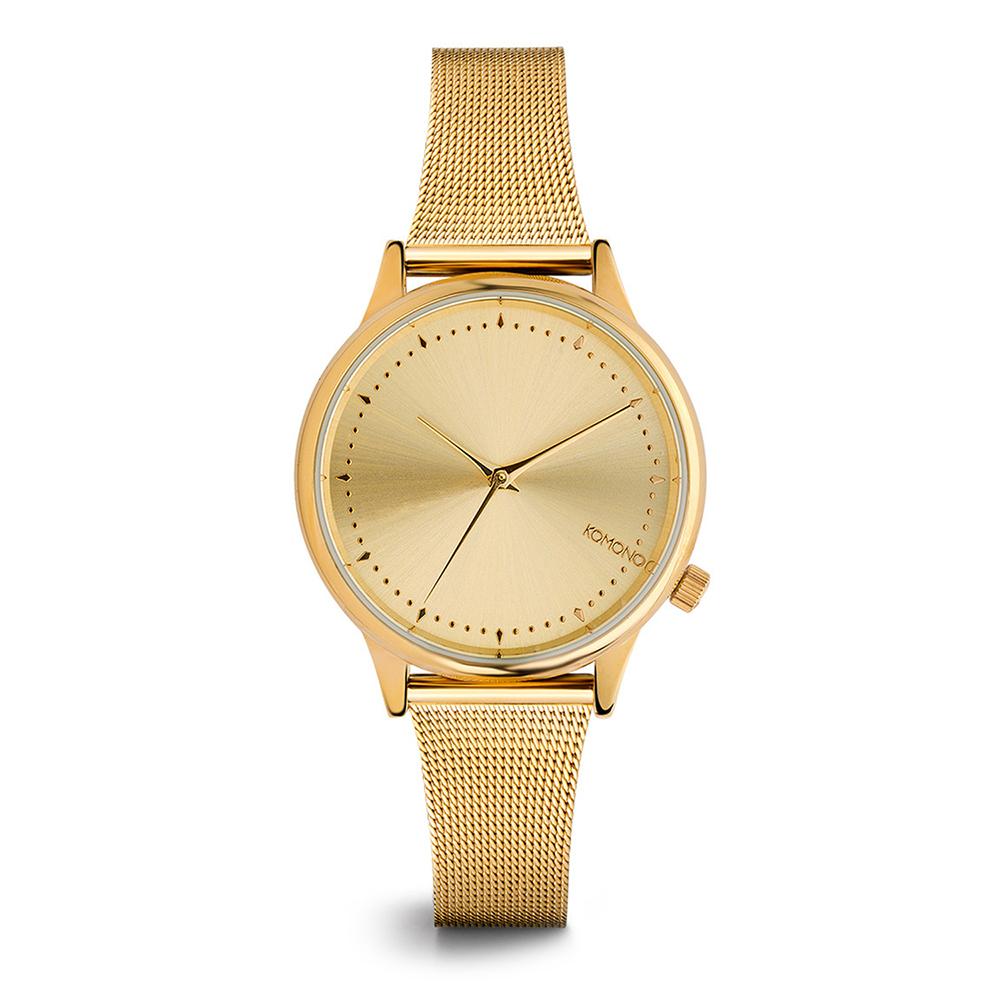 KOMONO Estelle Royale 腕錶-琥珀金/36mm