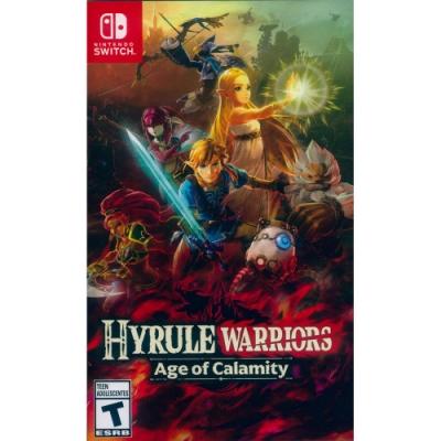 薩爾達無雙 災厄啟示錄 Hyrule Warriors Age of Calamity - NS Switch 中英日文美版