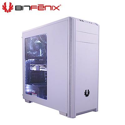 Bitfenix 火鳥 NOVA(B) 諾瓦星 ATX 白 透側 電腦機殼