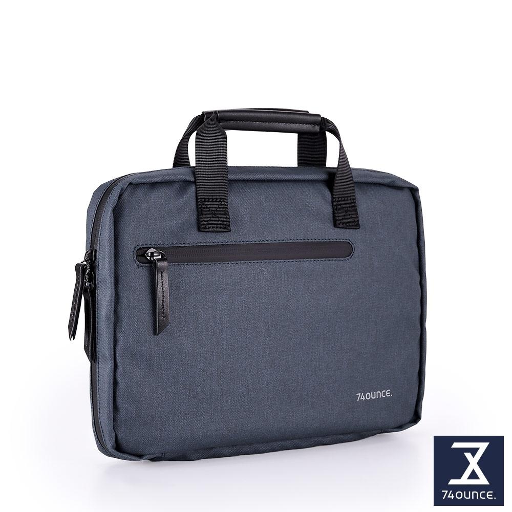 74盎司 Witty 休閒商務IPAD收納包(10吋)[G-1056-WI-M]藍