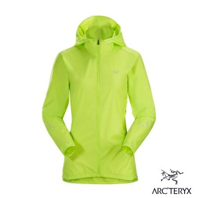 Arcteryx 始祖鳥 女 Cita 防潑水 連帽風衣外套 榍石黃