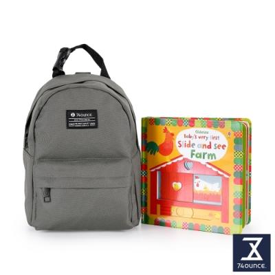 74盎司 Kid兒童後背包[K-033]灰