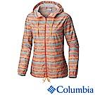 Columbia 哥倫比亞 女款-連帽風衣外套-橘色UKR30130OG