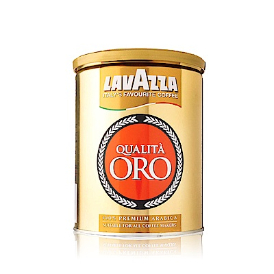 LAVAZZA Qualita ORO 金牌咖啡粉(250g-精裝鐵罐)