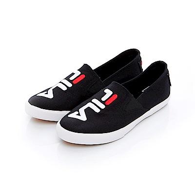 FILA 女款休閒鞋-黑 5-C115T-001