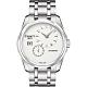 TISSOT Couturier 建構師偏心系列機械腕錶-銀/39mm T0354281103100 product thumbnail 1