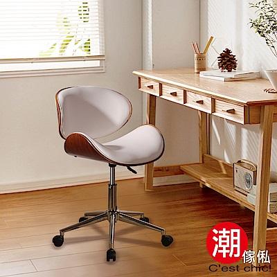 Cest Chic-Krakauer克拉庫爾皮質古典電腦椅(白)